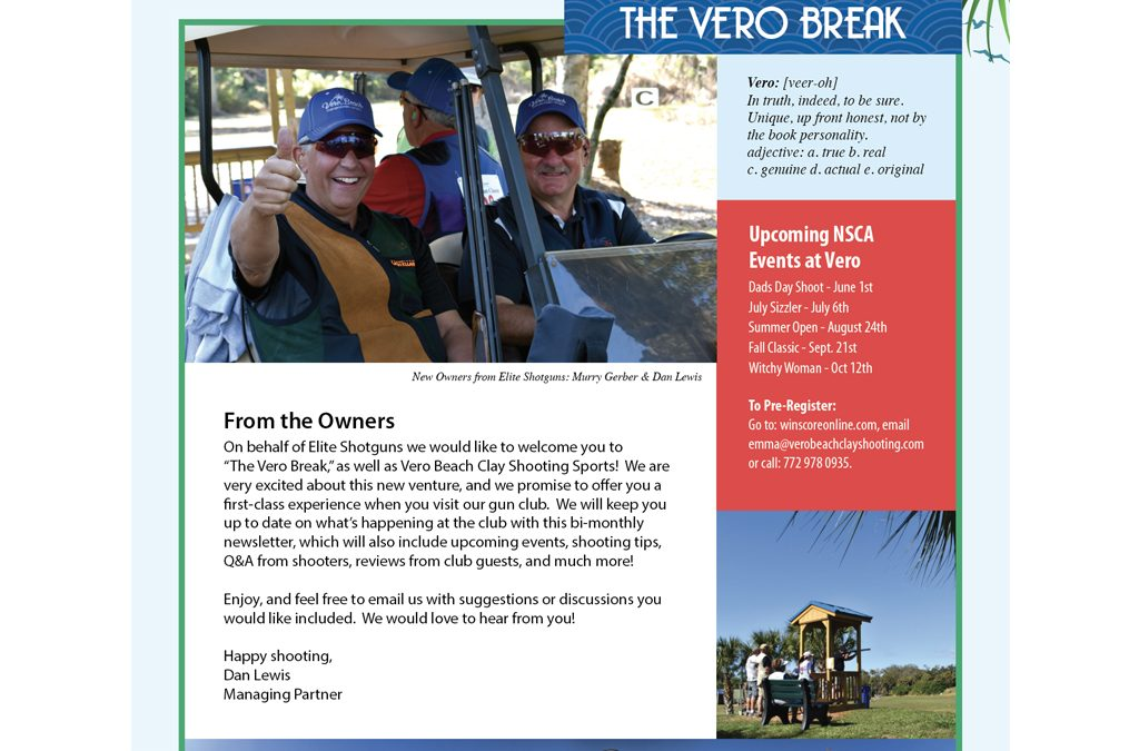 The Vero Break May/June 2019